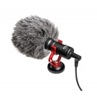 BOYA by-MM1 Universal Cardiod Shotgun Microphone Mini Mic for smart Phone Tablet DSLR Camera Camcorder Microphone