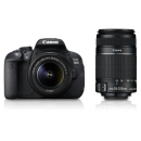 CANON EOS 700D Double Zoom (EF S18-55 IS II & EF S55-250 IS II)