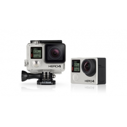 GOPRO HERO4 BLACK EDITION + ROLL BAR MOUNT + 16GB MICRO SD CARD + TRIPOD ADAPTOR + HANDHELD MONOPOD