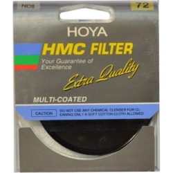 Hoya 72 mm HMC (NDX8) Neutral Density Special Effect Filter