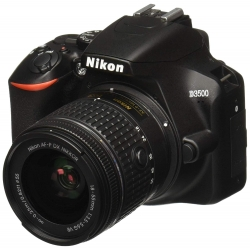 Nikon D3500 With AF-P DX Nikkor 18-55mm f/3.5-5.6G VR with 16GB Memory Card and Carry Case (Black)