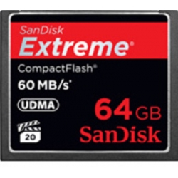 SanDisk Extreme CF 64 GB 60MB/S Memory Card