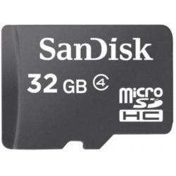 SanDisk Memory Card MicroSDHC 32GB