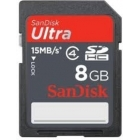 SanDisk Ultra SDHC 8 GB Class 4 Memory Card